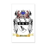Mikulich 35x21 Wall Decal