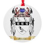 Mikulas Round Ornament