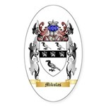 Mikulas Sticker (Oval 50 pk)