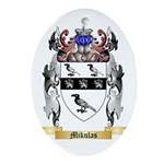 Mikulas Oval Ornament