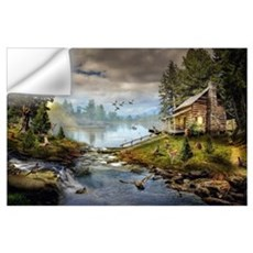 Wildlife Landscape Wall Art Wall Decal