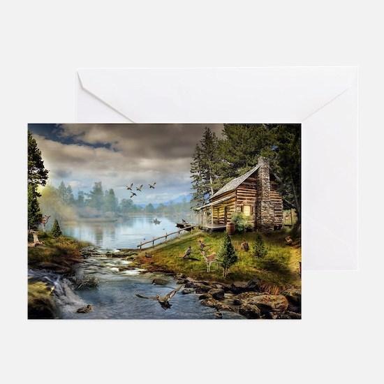 Wildlife Landscape Greeting Cards (Pk of 10)