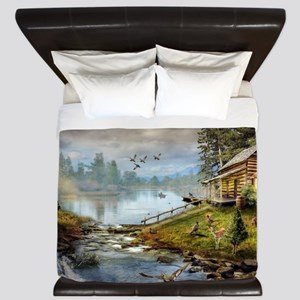 Wildlife Landscape King Duvet