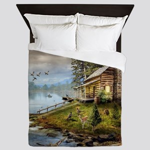 Wildlife Landscape Queen Duvet