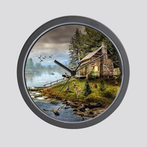 Wildlife Landscape Wall Clock