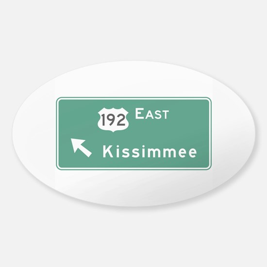 Kissimmee, FL Sticker (Oval)