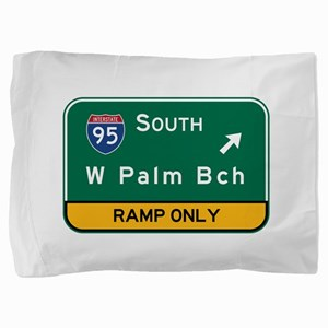 West Palm Beach, FL Pillow Sham