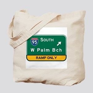 West Palm Beach, FL Tote Bag