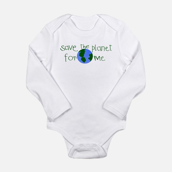 Funny Organic Long Sleeve Infant Bodysuit