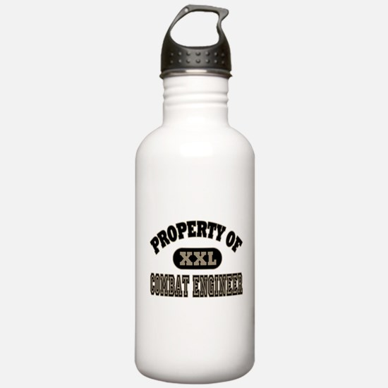 Property of Combat Eng Water Bottle