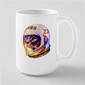 Astronaut Space Cat (deep galaxy version) Mugs