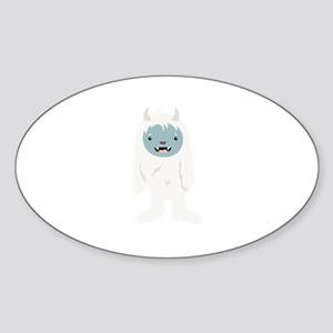 Yeti Creature Sticker