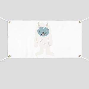 Yeti Creature Banner