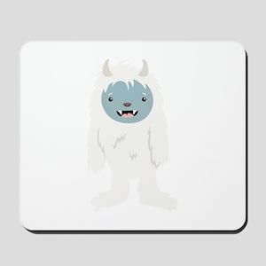 Yeti Creature Mousepad