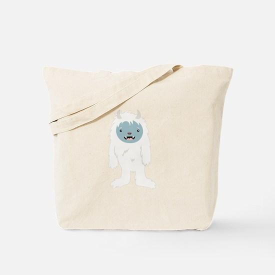 Yeti Creature Tote Bag
