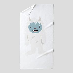 Yeti Creature Beach Towel