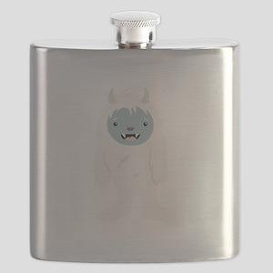 Yeti Creature Flask