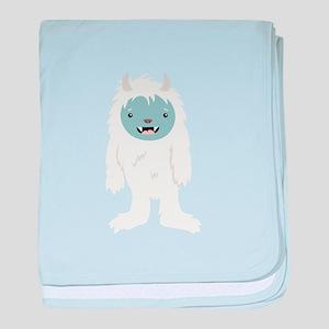 Yeti Creature baby blanket