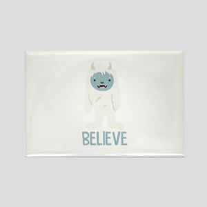 Believe In Yeti Magnets