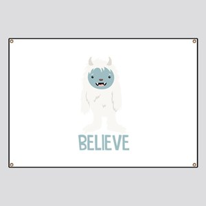 Believe In Yeti Banner