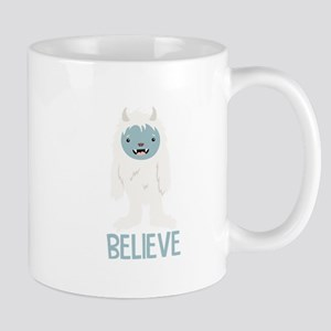 Believe In Yeti Mugs