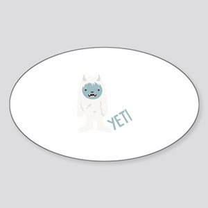 Yeti Monster Sticker