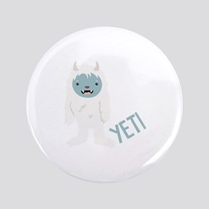 Yeti Monster Button
