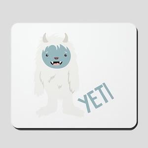 Yeti Monster Mousepad