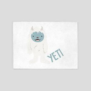 Yeti Monster 5'x7'Area Rug