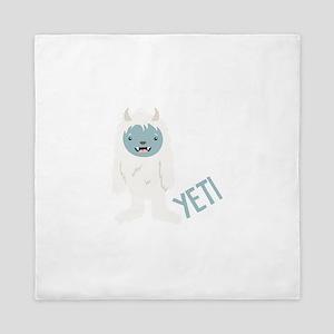 Yeti Monster Queen Duvet