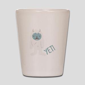 Yeti Monster Shot Glass