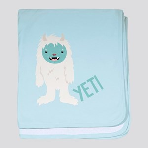 Yeti Monster baby blanket