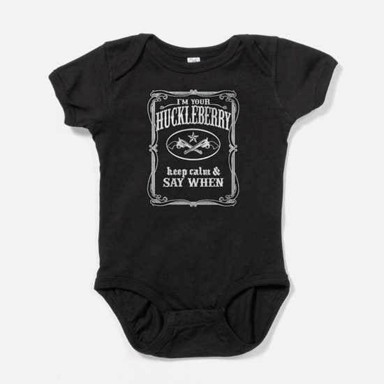 NEW! I'm Your Huckleberry (vintage look) Baby Body