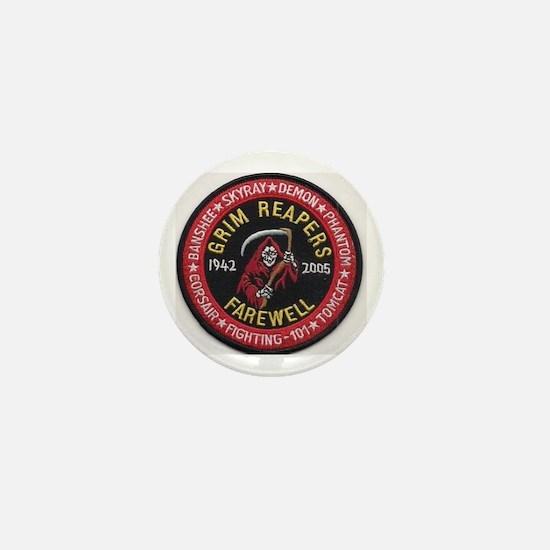 Funny Grim reapers Mini Button
