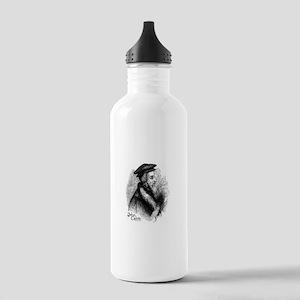 John Calvin Profile Stainless Water Bottle 1.0L