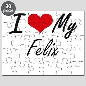I Love My Felix Puzzle