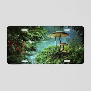 Enchanted Pond Aluminum License Plate