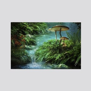 Enchanted Pond Rectangle Magnet