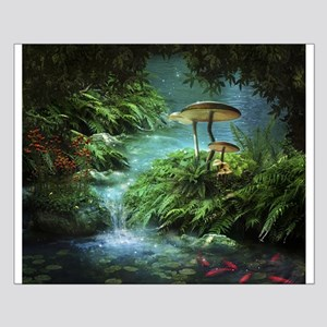 Enchanted Pond Small Poster