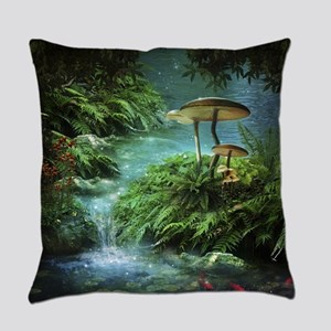 Enchanted Pond Everyday Pillow