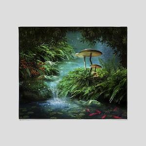 Enchanted Pond Throw Blanket