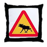 Moose Car Pillow