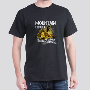 Mountain Biking T-shirt - Mountain biking, T-Shirt