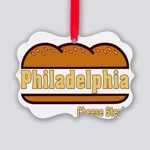 Philly Cheesesteak Picture Ornament
