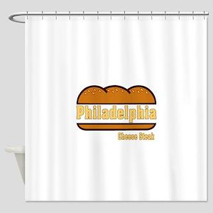 Philly Cheesesteak Shower Curtain