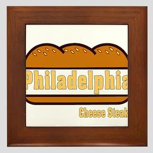 Philly Cheesesteak Framed Tile