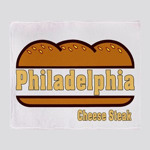Philly Cheesesteak Throw Blanket