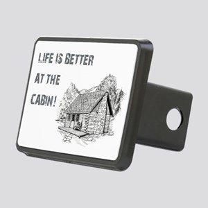 LIFE IS BETTER... Rectangular Hitch Cover
