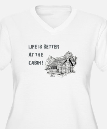 LIFE IS BETTER... Plus Size T-Shirt