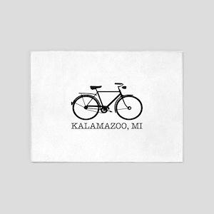 Kalamazoo Bicycle 5'x7'Area Rug